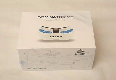 FatShark Dominator V3 FPV Goggles Headset Fat Shark Modular 3D - FSV1063