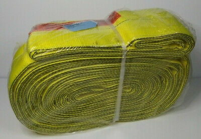 Liftall Webmaster Web Sling Polyester En2606dx19 6in. X 19ft. Yellow