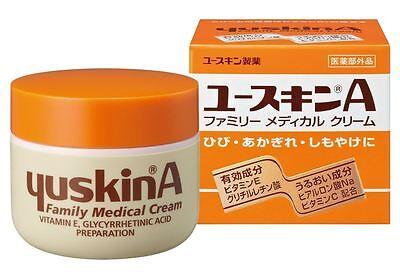 YUSKIN YuskinA Family Medical Cream 120g Hand Body Cream Vitamine E Japan New