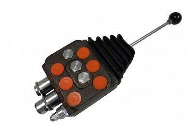 Dv102acxyg0p13 - Cross 10 Gpm Hydraulic Loader Valve 2 Spool W Joystick Control