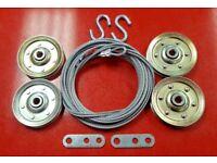 Garage Door Extension Spring PRO-KIT Double Looped for 7/' High Door 25-42-120 Po