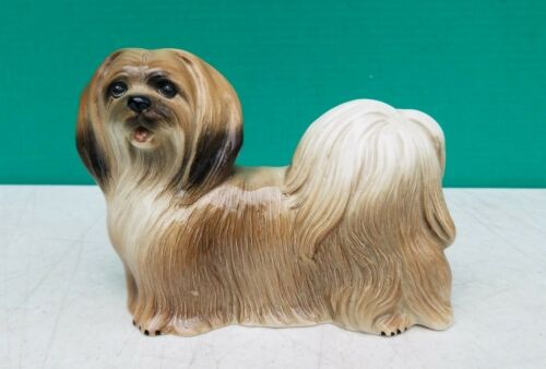 Vintage Made in England Coopercraft Lhasa Apso Dog Figurine