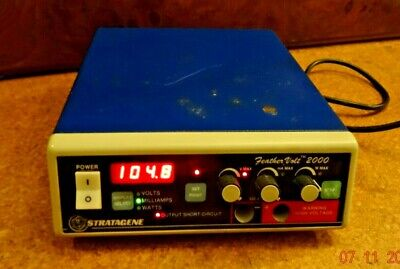 Stratagene Feather Volt 2000 Bench Top Power Supply