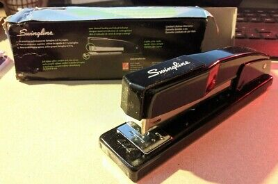 Swingline Commercial - Stapler - 20 Sheets - Metal - Black