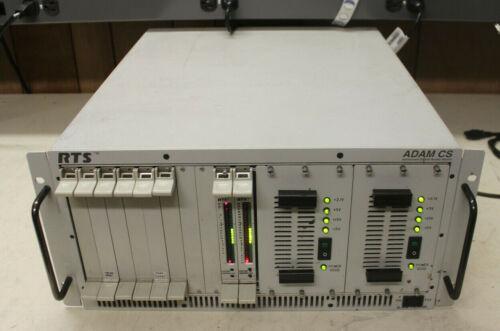 RTS Telex ADAM CS  Intercom Mainframe with 6 AIO Cards 48x