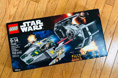 LEGO Star Wars Vader's TIE Advanced vs. A-Wing Starfighter (75150) NEW FREE SHIP