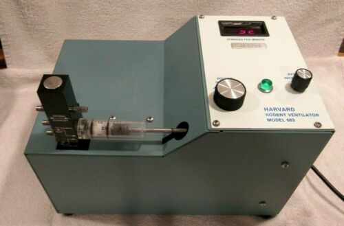 Harvard Apparatus Rodent Ventilator Model 683 VG W/Manual