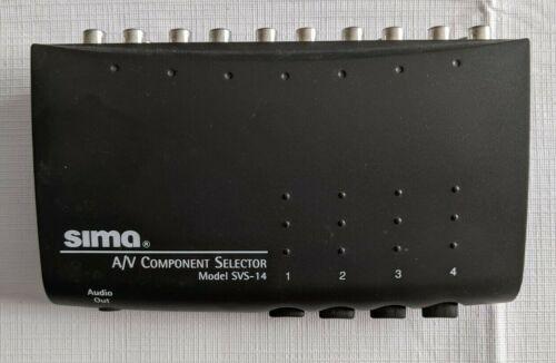 SIMA A/V COMPONENT SELECTOR MODEL SVS-14