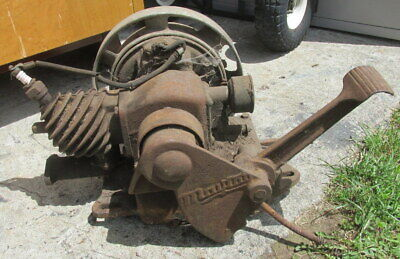 Maytag Hit And Miss Stationary Gas Engine Motor Fy-ed4 S279 For Parts Only