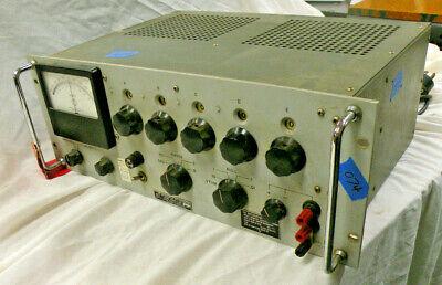 John Fluke 801bragdifferential Dc Voltmeter Anusm-98 Serial 758 Clean