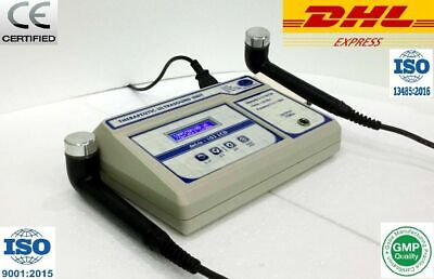 Brand New Delta Ultrasound Therapy 1mhz 3mhz Two Output Physical Machine Unit