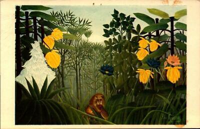 ART CARD - HENRI ROUSSEAU'S