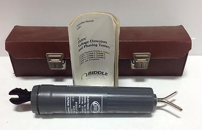 Biddle Detex Electronic Voltage Detector Cc-36011-36-us 514360-3