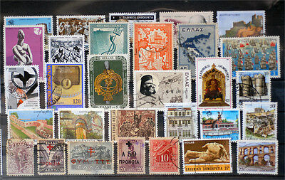 Greece-Lot stamps (ST408)