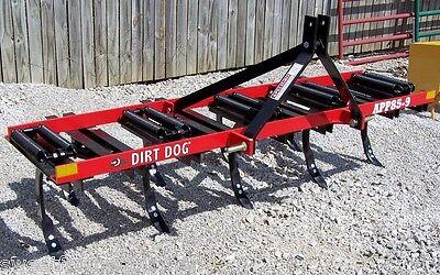New Dirt Dog  9 SK All Purpose Plow, Tiller, Ripper *WE CAN SHIP CHEAP*