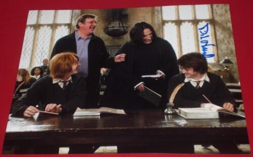 MIKE NEWELL SIGNED POTTER DIRECTOR STILL PHOTO AUTOGRAPH COA RICKMAN RADCLIFFE