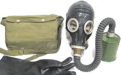 Gasmaske  Halloween Filter Tasche Gummischlauch Latex Fetisch Fasching Karneval for sale  Shipping to Ireland