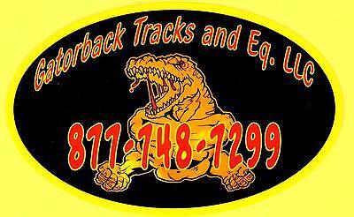 Gator Tracks and Equipment