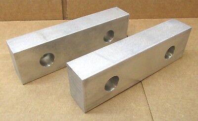 New Pair Of 6-34 X 2 X 1-14 Aluminum Milling Machine Vise Jaws For 6 Kurt