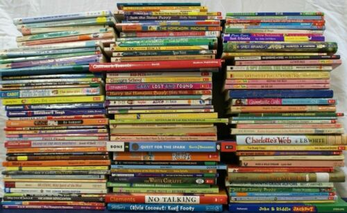 Childrens Chapter Books - Lot of 10 - Youth Early Reader Learning Young Adult