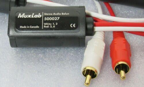 Muxlab Stereo Audio Balun 500027 [CTOKC]