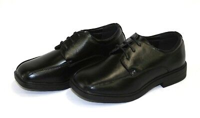 Brand New Boys' Formal Dress Shoes Lace Up Black or back to school Kids SZ 10-4 - Back To School Boys Shoes