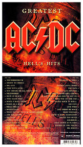 CARTON BOX by AC/DC - Greatest Hell's Hits - (NEW 2 CDs) - ITEM SEALED