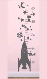 Childs Height Chart. Boy or Girl. New and Boxed.