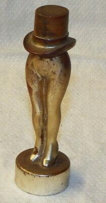 VINTAGE MISS CUTIE CIGARETTE LIGHTER NOVELTY LEGS WEARING TOP HAT ALLBRIGHT N.Y. Novelty Cigarette Lighter