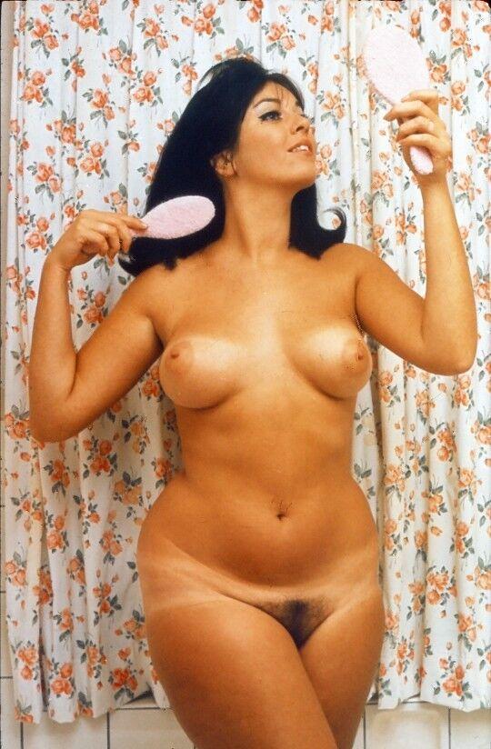 prof. DIA Akt Pin-up Frau Erotik FKK nude slide girl woman erotic Sammlung bm6