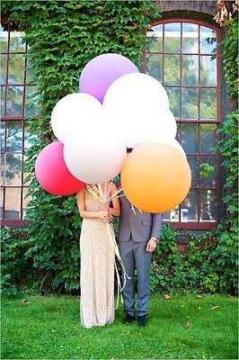 "HUGE GIANT BALLOONS UP TO 36"" INCH 3 FEET 91cm  XL JUMBO BIG WEDDING UK SELLER"