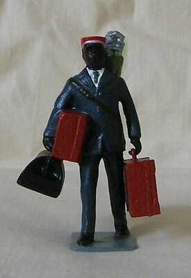 Redcap with Luggage/Suitcase, Standard Gauge reproduction, Ives, Dorfan, Flyer