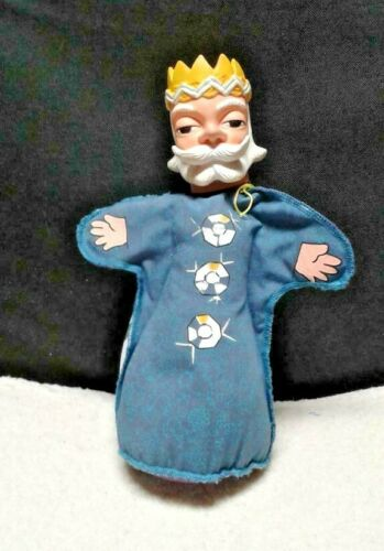 MR. ROGERS TROLLEY/ KING FRIDAY HAND PUPPET.
