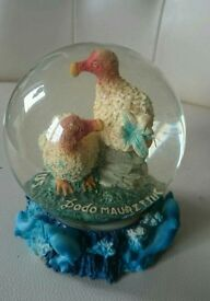DoDo Birds and Dolphins Water Globe