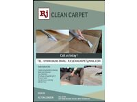 Carpet cleaning and ulphostery
