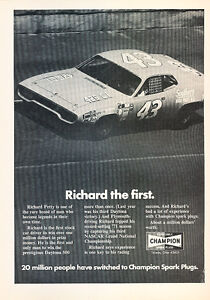 1972-Plymouth-Satellite-NASCAR-Classic-Vintage-Advertisement-Ad-A70-B