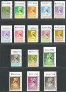 Hong Kong Definitive Stamps