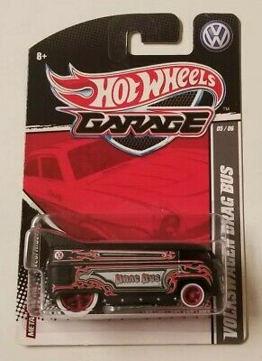 Hot Wheels Garage Volkswagen Drag Bus * Sweet! * NIP 1:64 Scale