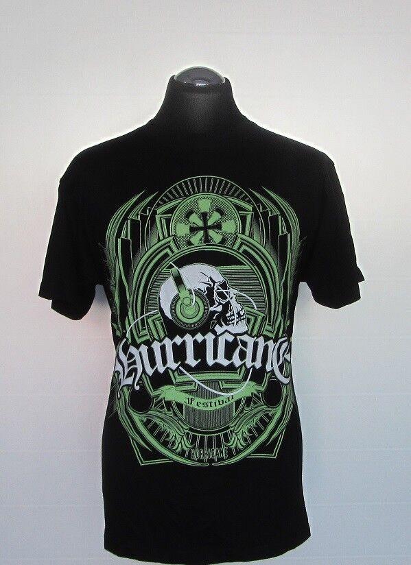 T-Shirt | Hurricane - Festival | von Bravado | Schwarz | Größe M | Neu!