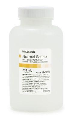 3 Bottles Sterile Irrigation Solution Usp Normal Saline 250ml Sodium Chloride