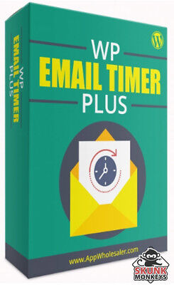 Wp Email Timer Plus Worpdress Plugin With Master Resell Rights Make Money Online