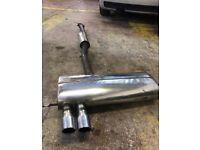 Milltek exhaust car back s3 8l vw Audi golf seat Leon 1.8t turbo