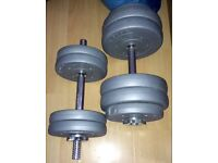 12.5 kg and 5 kg weights £10