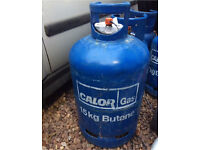 Calor gas 15kg nearly full