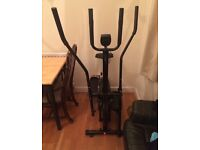 2 - in- 1 elliptical cross trainer exercise bike