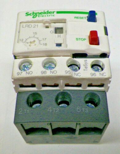 NEW - Schneider Electric Overload LRD21 /LAD7B10 / LRD 21