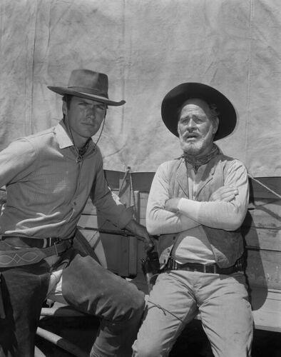 Paul Brinegar, Clint Eastwood - Rawhide (1959) - 8 1/2 X 11