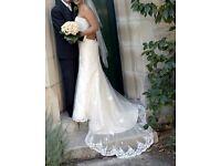 Essence of Australia wedding dress - size 10