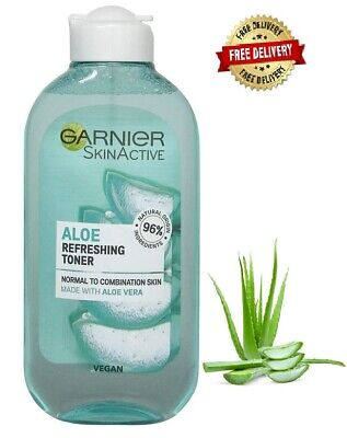 Garnier Refreshing Aloe Extract Toner Normal Skin 200 ml