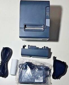 Epson TM-T88V - Thermal Receipt Printer - Parallel & USB Interfaces - w/ Accessories & Original Box - M244A